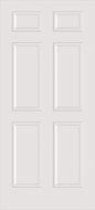 Custom Carved Wood Composite All Panel Interior Door
