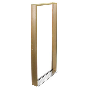 Design pro fiberglass jeld wen doors windows for Outside doors and frames