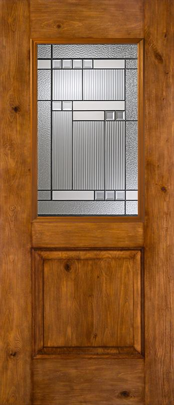 Architectural™ Fiberglass Glass Panel Exterior Door | JELD-WEN ...