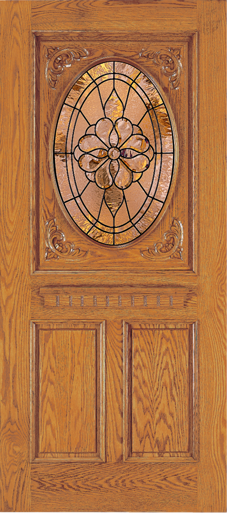 Custom Wood Glass Panel Exterior Door | JELD-WEN Windows & Doors