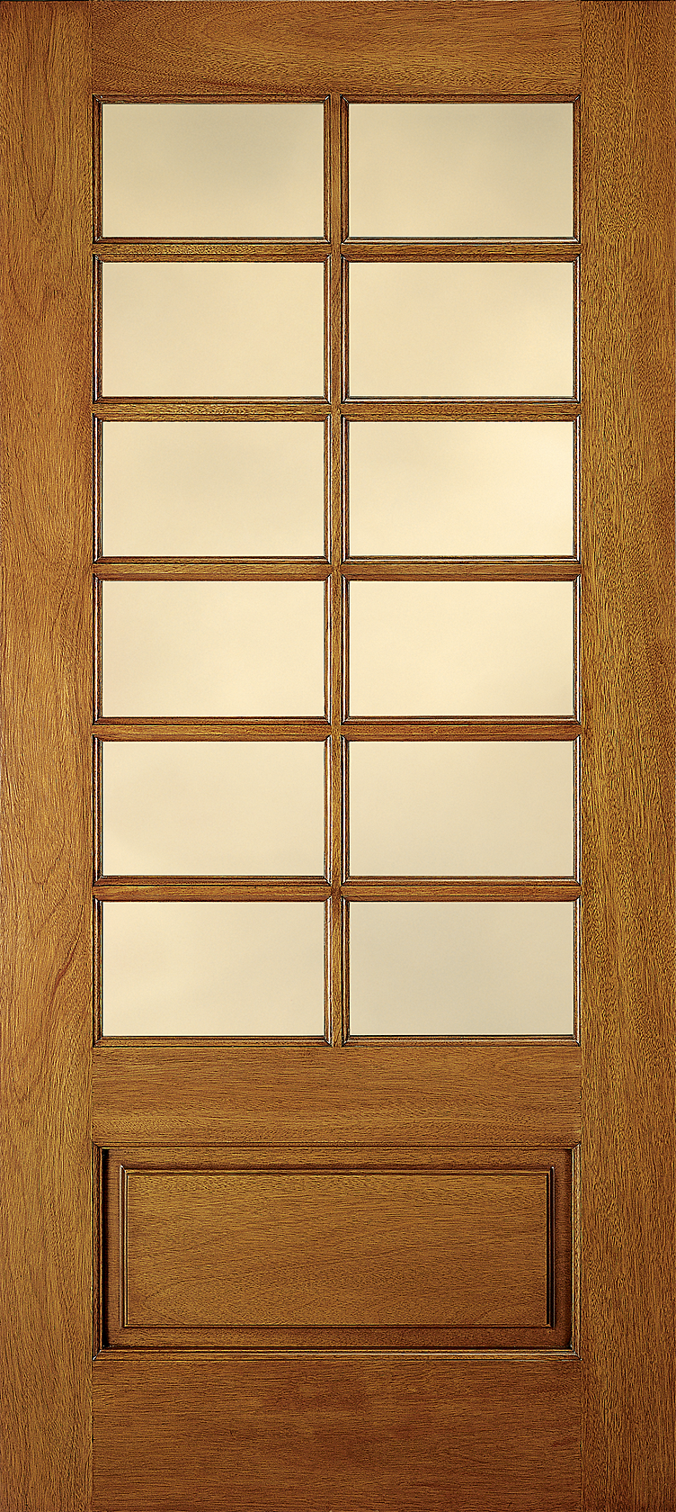 Custom Wood Glass Panel Interior Door Jeld Wen Windows Doors