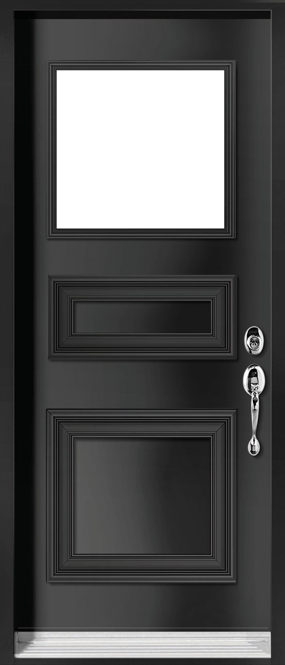Glass Panel Exterior Door executive steel glass panel exterior door | jeld-wen windows & doors