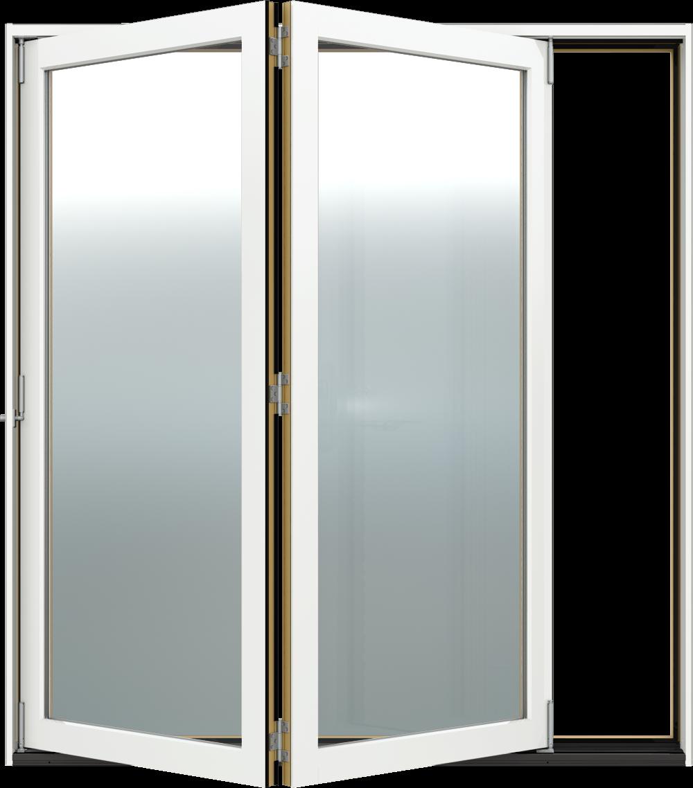 Siteline Wood Folding Patio Door JELDWEN Windows Doors