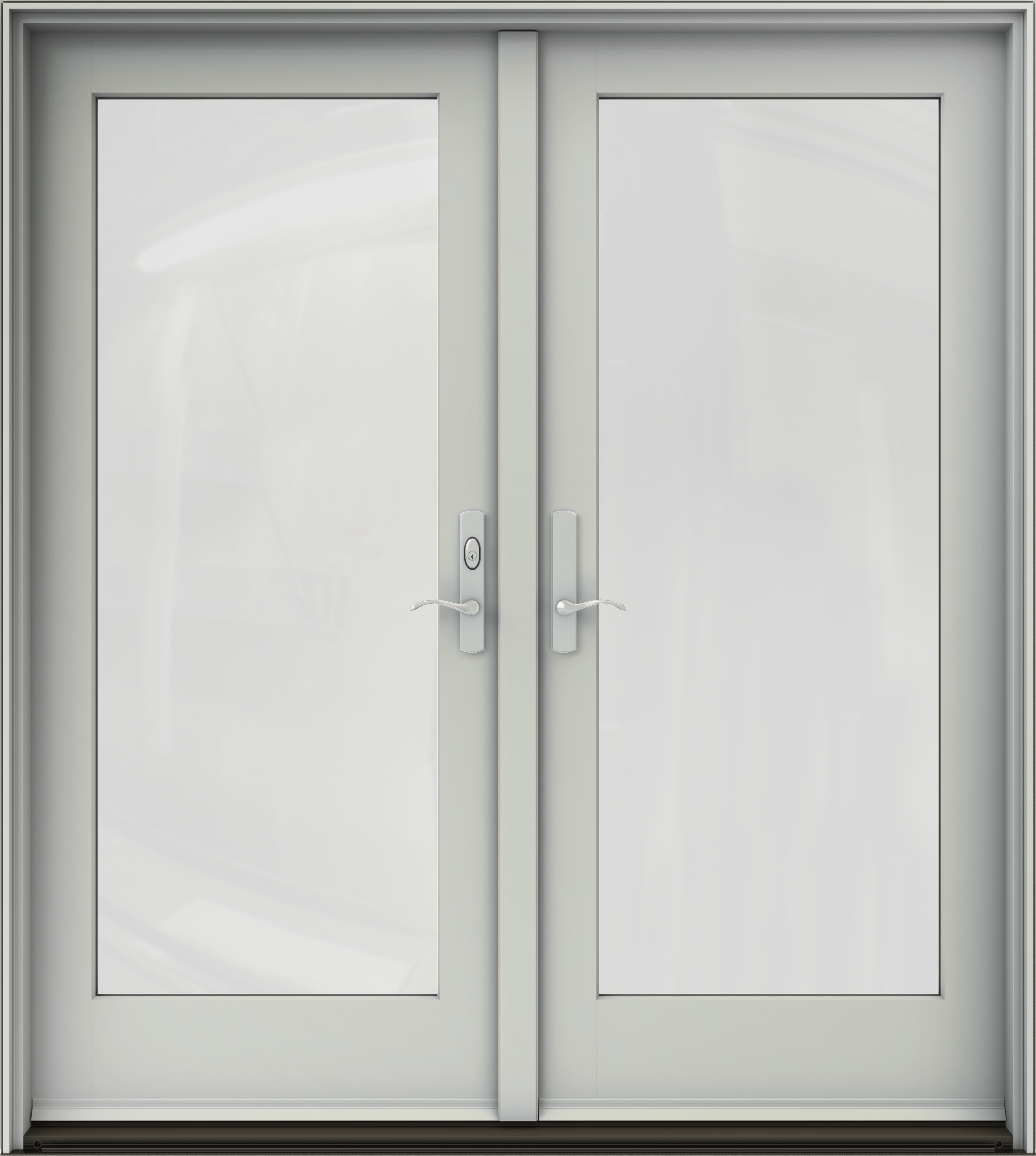 W 4500 Clad Wood Swinging Patio Doors