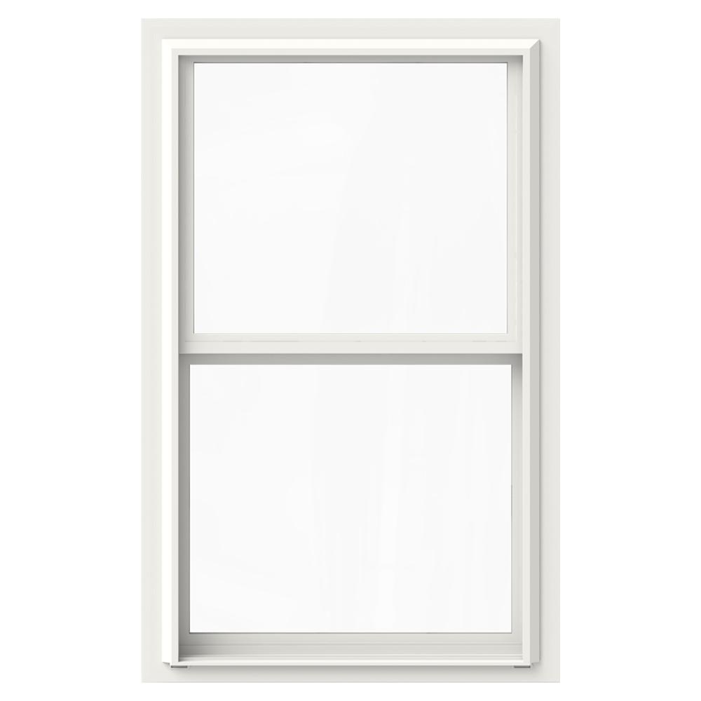 double hung window pictures interior premium vinyl doublehung window jeldwen windows doors