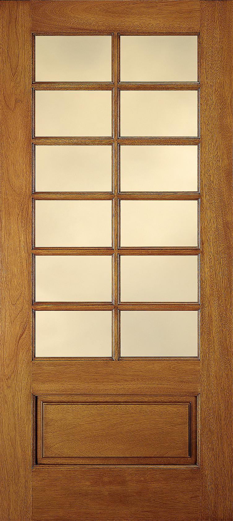 Wood And Glass Elevation : Jeldwen door jeld wen in lite craftsman